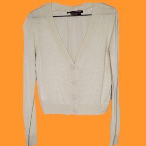 2/$30   White cardigan